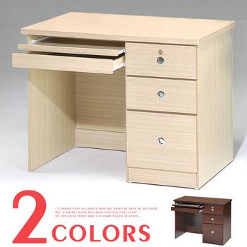 《Homelike》好學生電腦桌(白橡木紋)