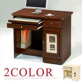 《Homelike》自然風味電腦書桌(胡桃木紋)
