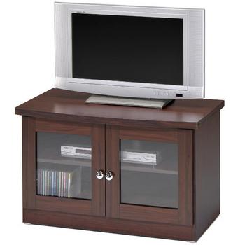 《Homelike》簡約雙門電視櫃(胡桃木紋)