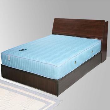 《Homelike》諾雅3.5尺床組-單人(胡桃木紋)