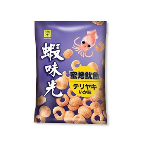 裕榮 蝦味先-蜜烤魷魚(100g/包)