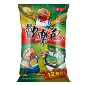 《華元》鹹酥餅乾歡樂包(144G/袋)
