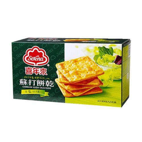 喜年來 甘藍蘇打餅乾(207g/盒)