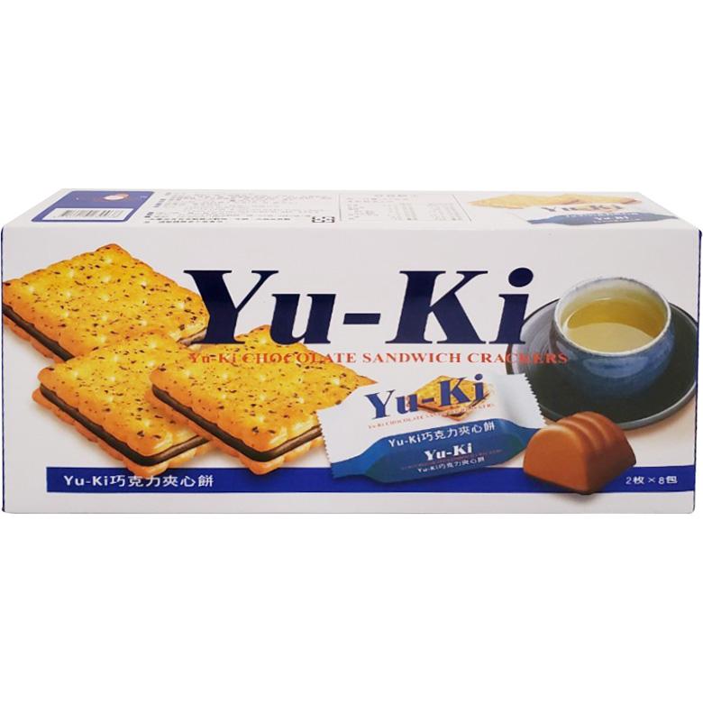 《Yu-ki》巧克力夾心餅(150g/盒)