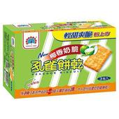 《乖乖》孔雀餅乾-椰香奶脆(170gx3入/盒)