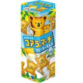 《Lotte》樂天小熊餅-牛奶口味(37g/盒)