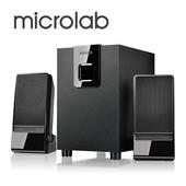 《Microlab》M-100  2.1多媒體喇叭 (國民澎湃機)(福利品)