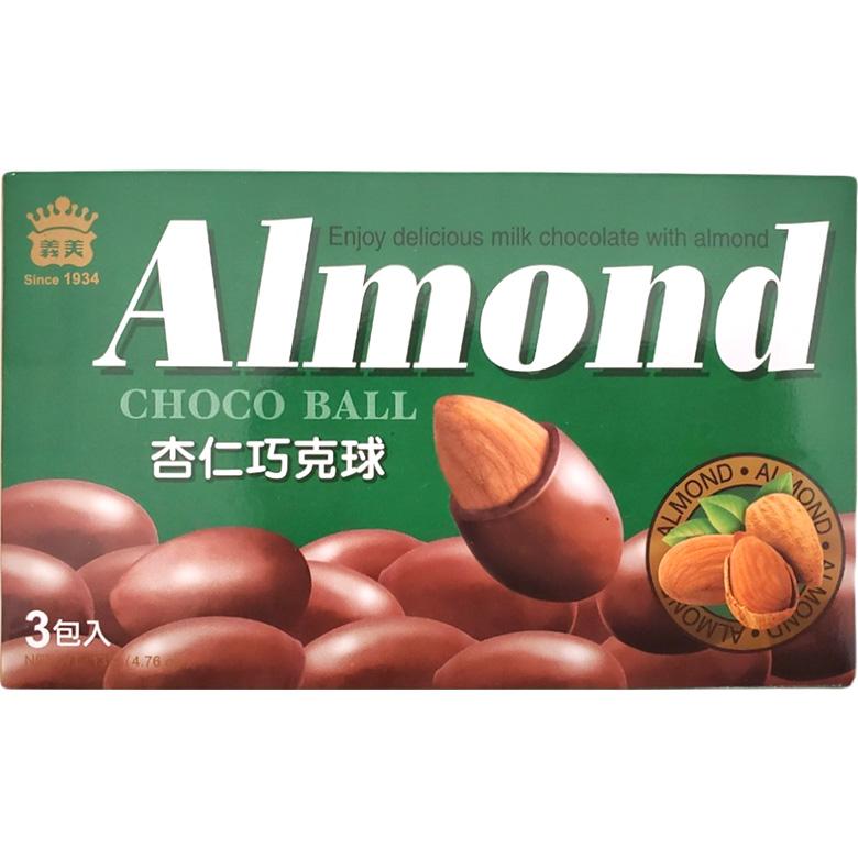 《義美》杏仁巧克球(135公克/盒)