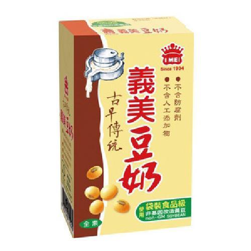 義美 研磨豆奶(250ml*24包/箱)