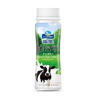 福樂 自然零優酪乳(150ml/瓶)