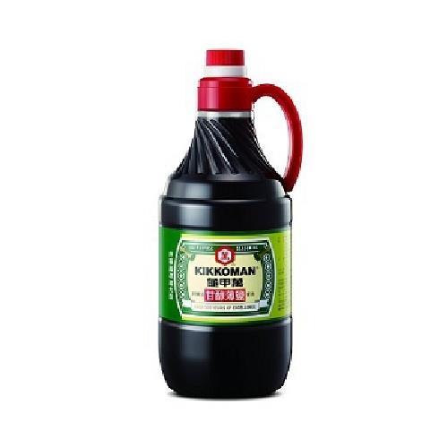 龜甲萬 甘醇薄鹽醬油(1600ml/瓶)