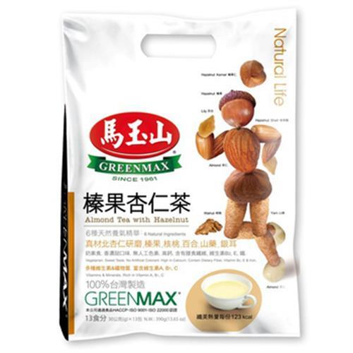 馬玉山 榛果杏仁茶(30g*13包/袋)