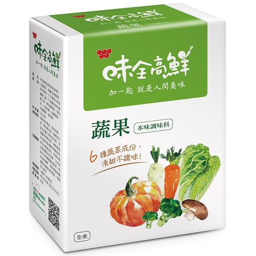 味全 高鮮蔬果本味調味料(320g/盒)