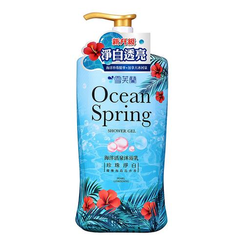 雪芙蘭 海洋活泉沐浴乳- 珍珠淨白(1000g)