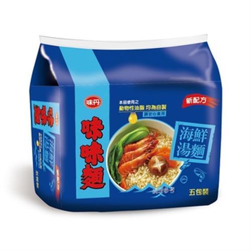 味丹 味味麵海鮮湯麵(68gx5包/組)