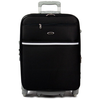 Audi 奧迪 28吋新方形輕量系列360度行李箱旅行箱LT-72528(黑)