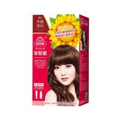 《美吾髮》葵花亮澤染髮霜-4v號 黑醋栗棕(盒)