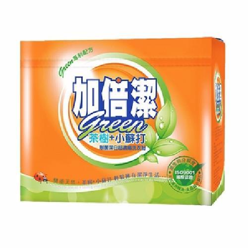 《加倍潔》茶樹小蘇打制菌潔白濃縮洗衣粉(1.5kg)