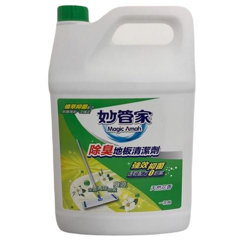 妙管家 除臭地板清潔劑-田園馨香(4000gm/加侖桶)