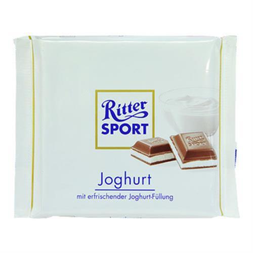 《Ritter Sport》優格巧克力(100g/片)