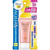 《Biore蜜妮》含水防曬亮采裸妝霜 SPF50 PA+++(33g/瓶)
