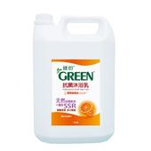 《GREEN綠的》抗菌沐浴乳-葡萄柚 3800ml(1加侖/桶)