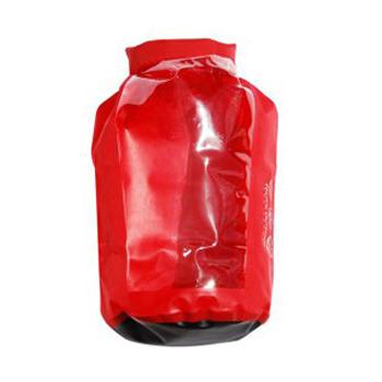 PACIFIC OUTDOOR 透明窗防水袋15L (24*53cm)(紅)
