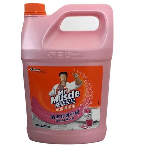 《威猛先生》地板清潔劑-花香(3785ml /瓶)