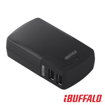 Buffalo 4.2A 大電流 USB 充電座(4port)(黑)