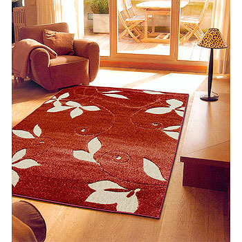《Ambience》比利時Toscana仿羊毛地毯-葉子(160x230cm)
