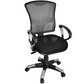 《凱堡》英倫高背全透氣辦公椅(灰色)