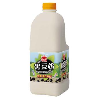 義美 黑豆奶-原味(2000ml/瓶)