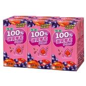 《波蜜》100%蘋果葡萄汁(160ml*6包/組)