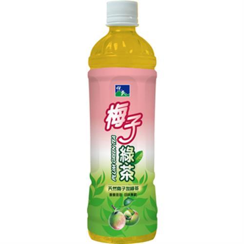 悅氏 梅子綠茶(550ml*4瓶/組)