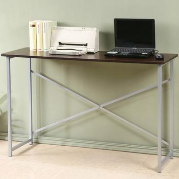 《Homelike》超值工作桌-寬120公分(胡桃色)