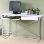 《Homelike》超值附抽電腦桌-寬120公分(純白色)