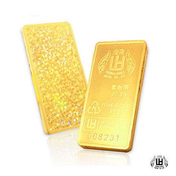 煌隆 壹台兩黃金條塊三塊(共30台錢)
