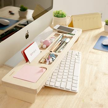 C&B 華慕多功能鍵盤置物桌上架(A款)