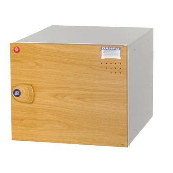 時尚屋 鋼製ABS木紋門組合式置物櫃 附鎖 (KDF-2011F)