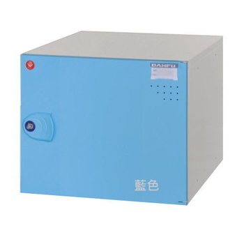 時尚屋 鋼製組合式置物櫃-6色 附鎖 (KDF-2012)