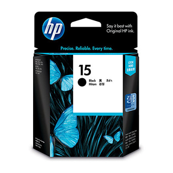 HP C6615DA NO.15原廠黑色墨水匣