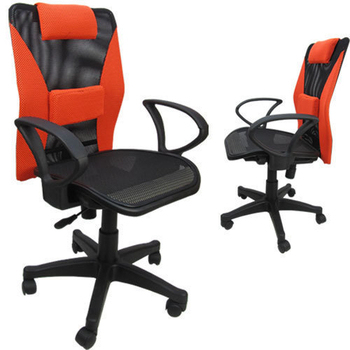 《LOGIS》涼透全網坐墊電腦椅(灰色)