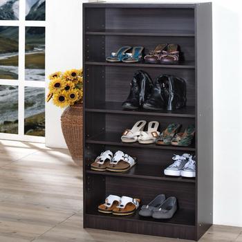 Frama 約克高六格兩用式鞋櫃(胡桃木色)