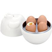 《OKAY》微波咕咕雞家庭號4入煮蛋器