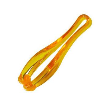 生活大師 手指舒壓按摩器 (2入)(水晶橘)