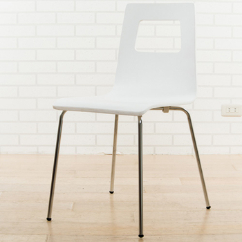 《BuyJM》菲夢絲造型餐椅(白色)