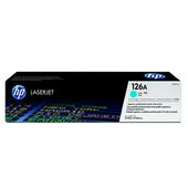《HP》CE311A 原廠青藍色碳粉匣