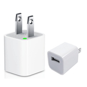 【2仟萬責任險保障】1A USB介面通用充電器(旅充/iPhone/HTC/SONY/SAMSUNG)(白)