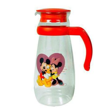 ★結帳現折★迪士尼米奇 卡通造型冷水壺1000cc(紅)