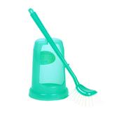 《生活大師》日式馬桶刷 - 附刷座(綠色)